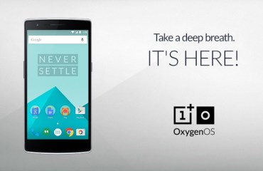 OnePlus One OxygenOS Header