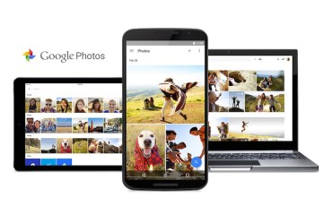 Google Photos Header