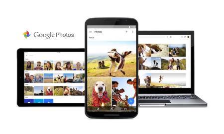 Google Photos Header