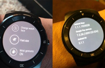 LG G Watch R Android 5.1