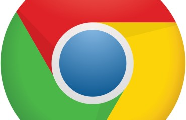 Chrome Logo Icon Header