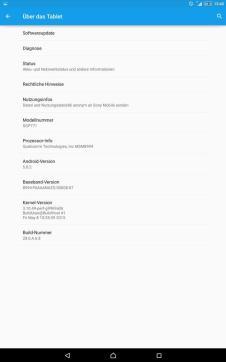 Sony Xperia Z4 Tablet LTE Screen_7