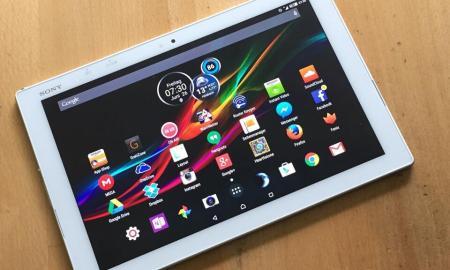 Sony Xperia Z4 Tablet LTE Test2