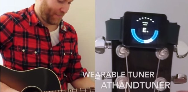 Using an Android Wear app, atHandTuner, and smartwatch as a clip-on guitar tuner. - YouTube - Google Chrome 2015-06-25 10.18.30