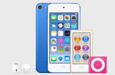 iPod Lineup 2015 Farben