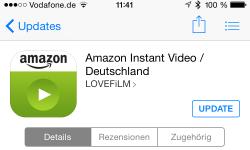 Amazon Instant Video ios