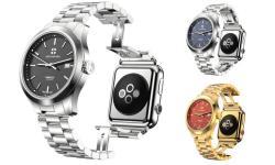 Uhr und Apple Watch