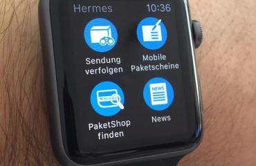 hermes apple watch app