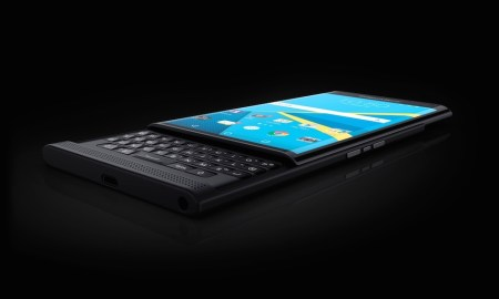 BlackBerry Priv Header
