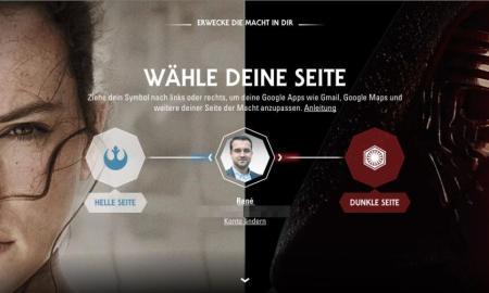 Google Star Wars Aktion