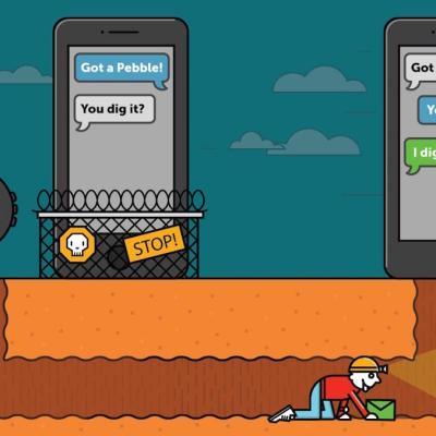Pebble iOS Reply