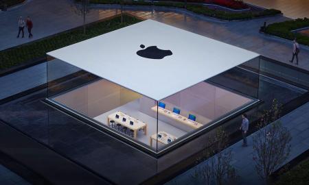 Apple Store Istanbul Header