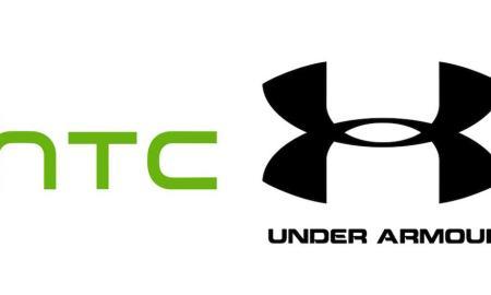 HTC Under Armour Logo Header
