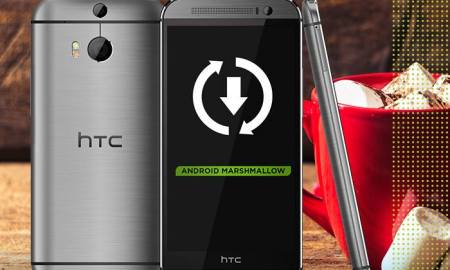 HTC One M8 Marshmallow