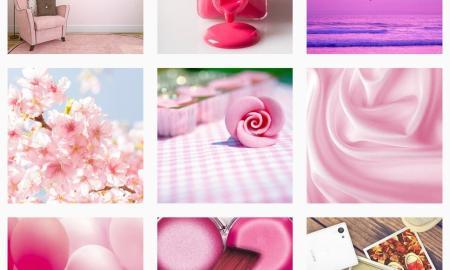 Sony Pink Instagram