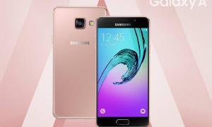 galaxy a3 a5 pink gold