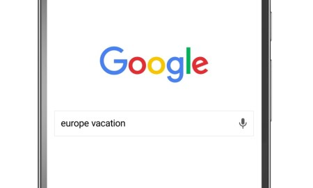 Google Destinations Header