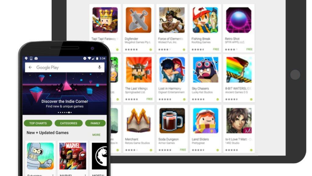 Google Play Indie Corner