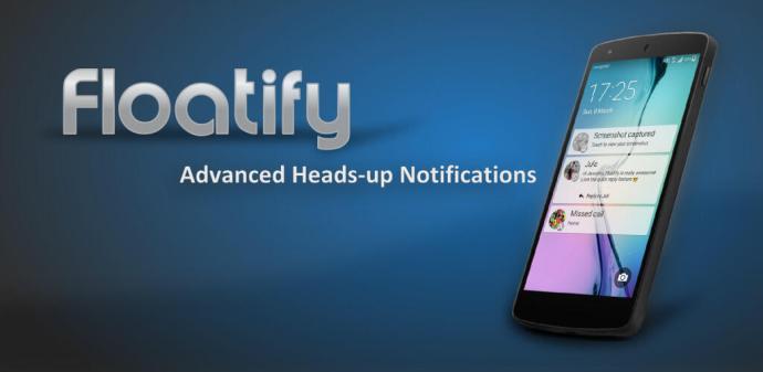 Floatify 10 bringt Android-N-Benachrichtigungen und Swipe-Gesten