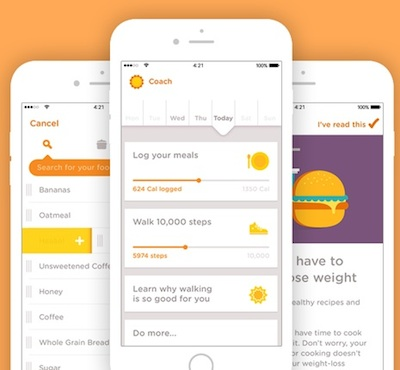 Noom raises $15M for food logging, activity tracking apps