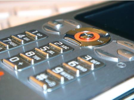 Sony Ericsson W880i näppäimistö