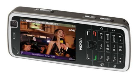 Nokia N77 mobiili-tv