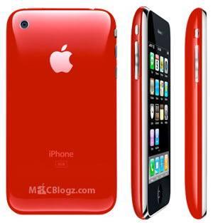 Punainen iPhone 3G