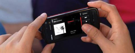 Nokia 5800 XpressMusic kosketusnäyttö