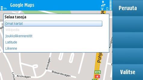 N97 Google Maps 3.2