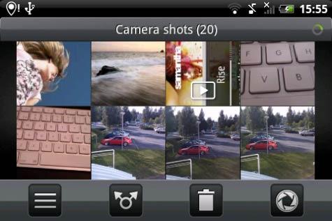 HTC Hero Sense kuvat