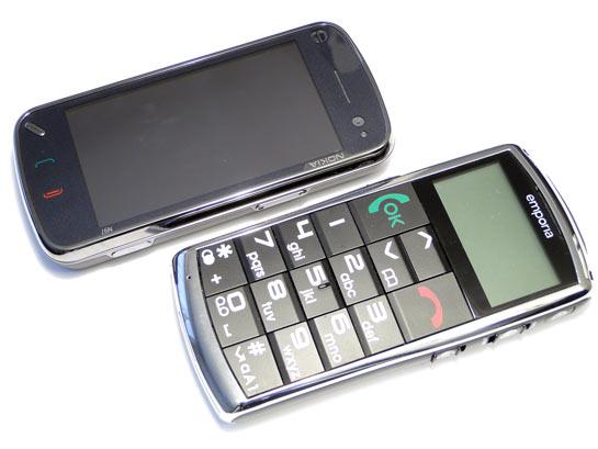 Emporia Talk Premium ja Nokia_N97