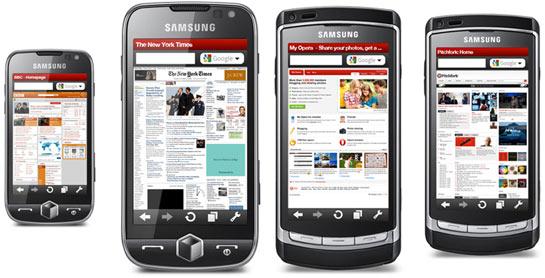 Opera Mobile 10 Samsung