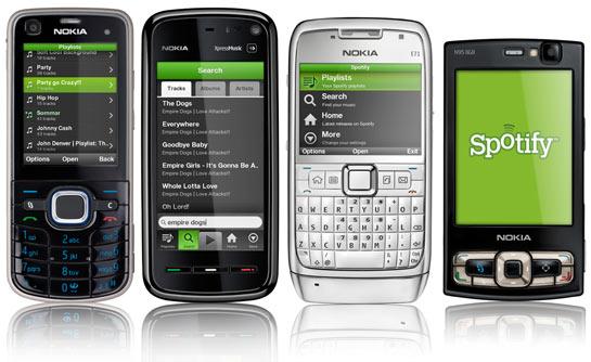 Spotify S60 Nokia