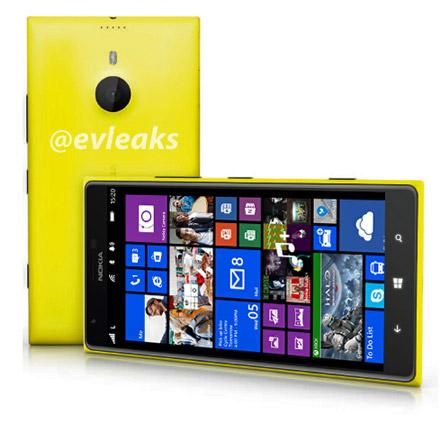 Lumia 1520 pressikuva