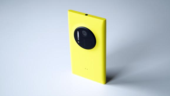 Lumia 1020 keltainen