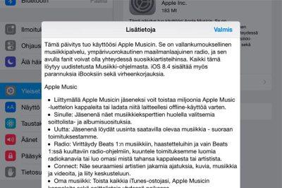 Apple iOS 8.4