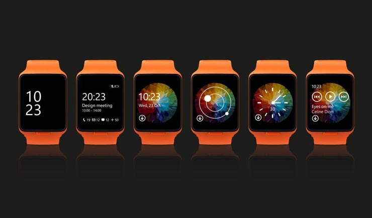 Nokia Microsoft Moonraker smartwatch
