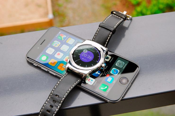 iPhone 6 LG Watch Urbane