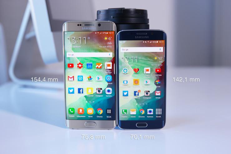 Galaxy S6 edge plus vs Galaxy S6 edge