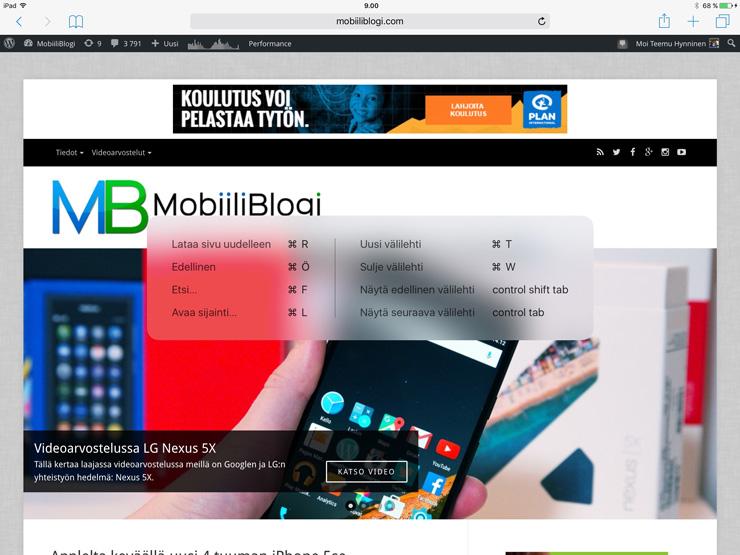 iOS 9, iPad Pro