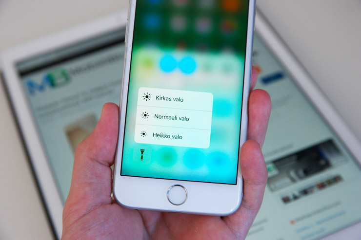 iPhone 6s, 3D Touch