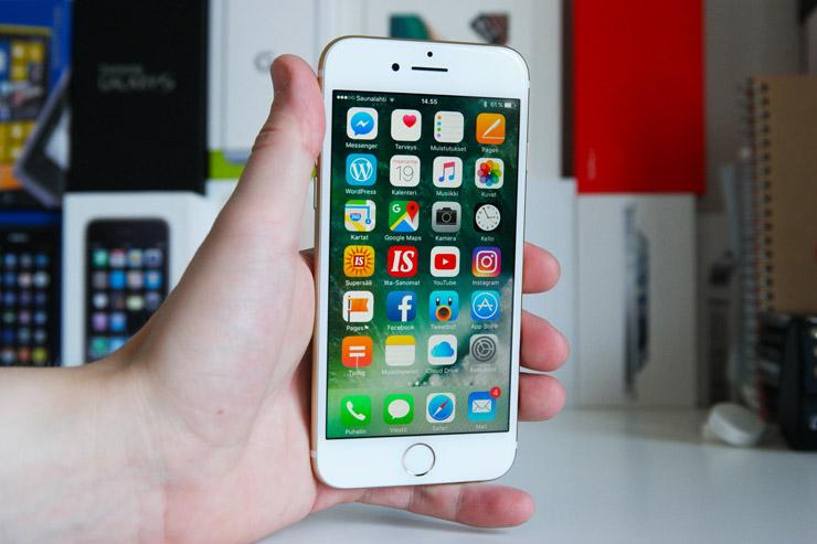 iPhone 7 näyttö