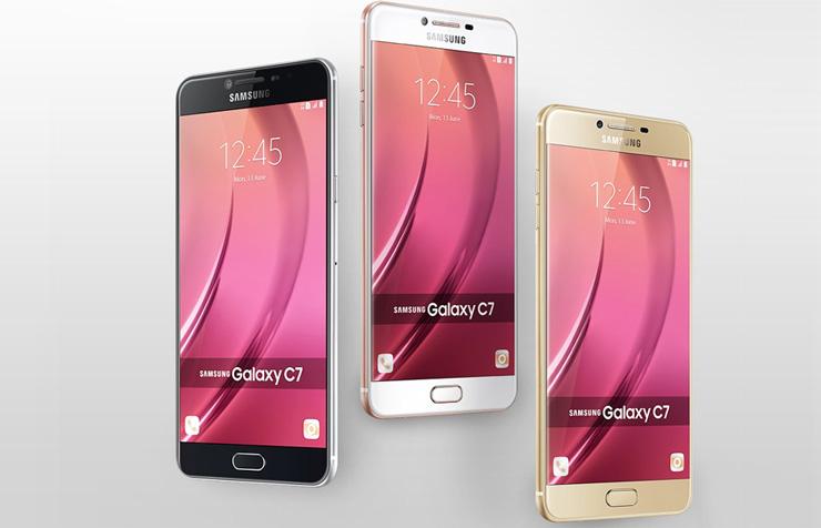 Galaxy C9 Pro värit