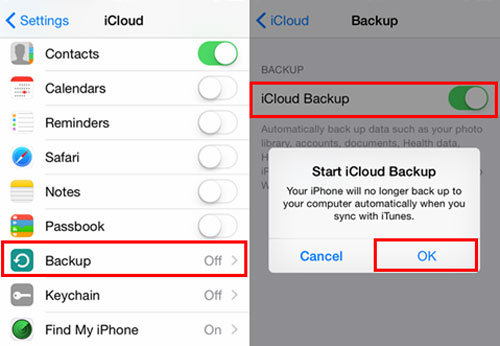 How to Backup iPhone Xs/Xs Max/XR/X/8/8 Plus?