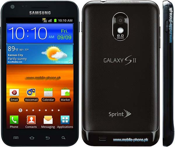 Samsung Galaxy S II Epic 4G Touch Mobile Pictures - mobile-phonepk - tuch mobil