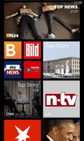 News-Apps auf Windows Phone