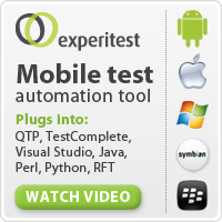 see test mobile automation testing