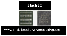 Flash IC of a Mobile Phone