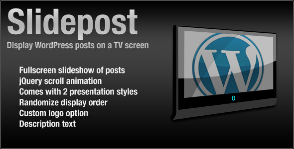 SlidePost wordpress plugin