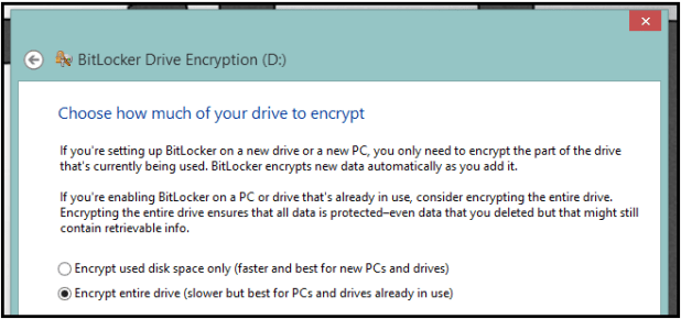 How to password protect encrypt USB Drives without any software-Step 3